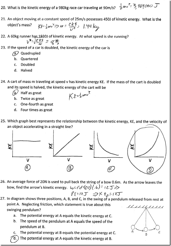 Gravitational Potential Energy Archives Regents Physics