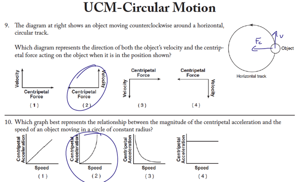 Ucm gravity worksheet answers