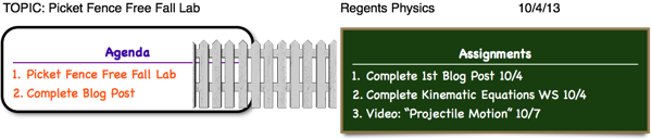 picket fences free fall physics lab Free fall lab - starter what file, open, physics with vernier, 05 picket fence free fall return all equipment as you found it photogate setup after it passes.