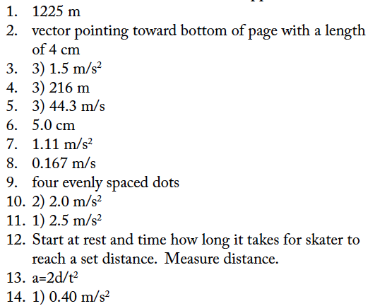 Horizontal Kinematics WS Answers Regents Physics – Kinematics Worksheet