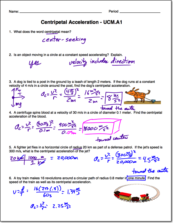 uniform circular motion Archives - Page 2 of 2 - Regents Physics