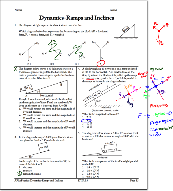 Newton's 2nd Law Archives - Page 2 of 6 - Regents Physics